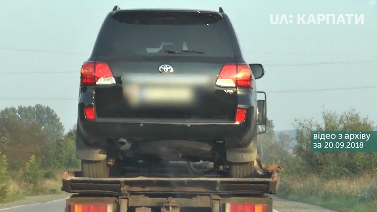 Справа ДТП, у яку потрапив службовий автомобіль начальника обласної поліції, - у прокуратурі Закарпатської області