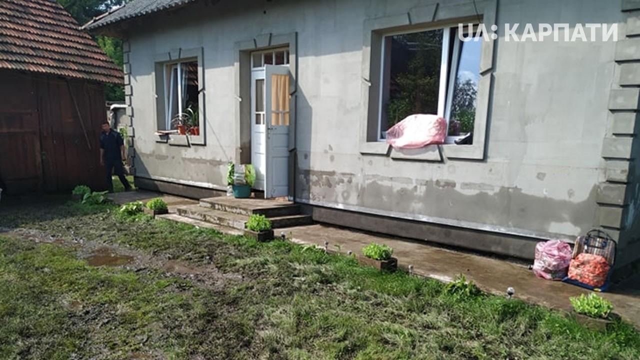 У Загайполі на Коломийщині вода піднялася на 2 метри