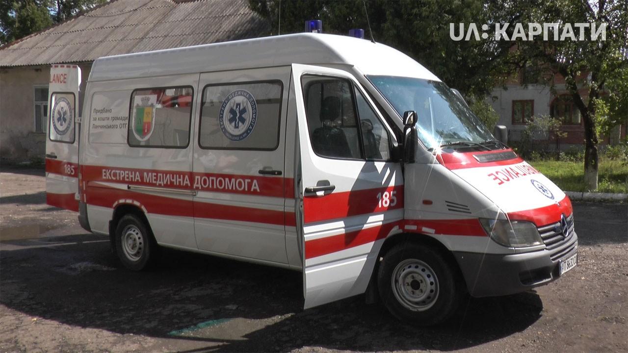 Жителі Ланчинської ОТГ купили автомобіль швидкої допомоги