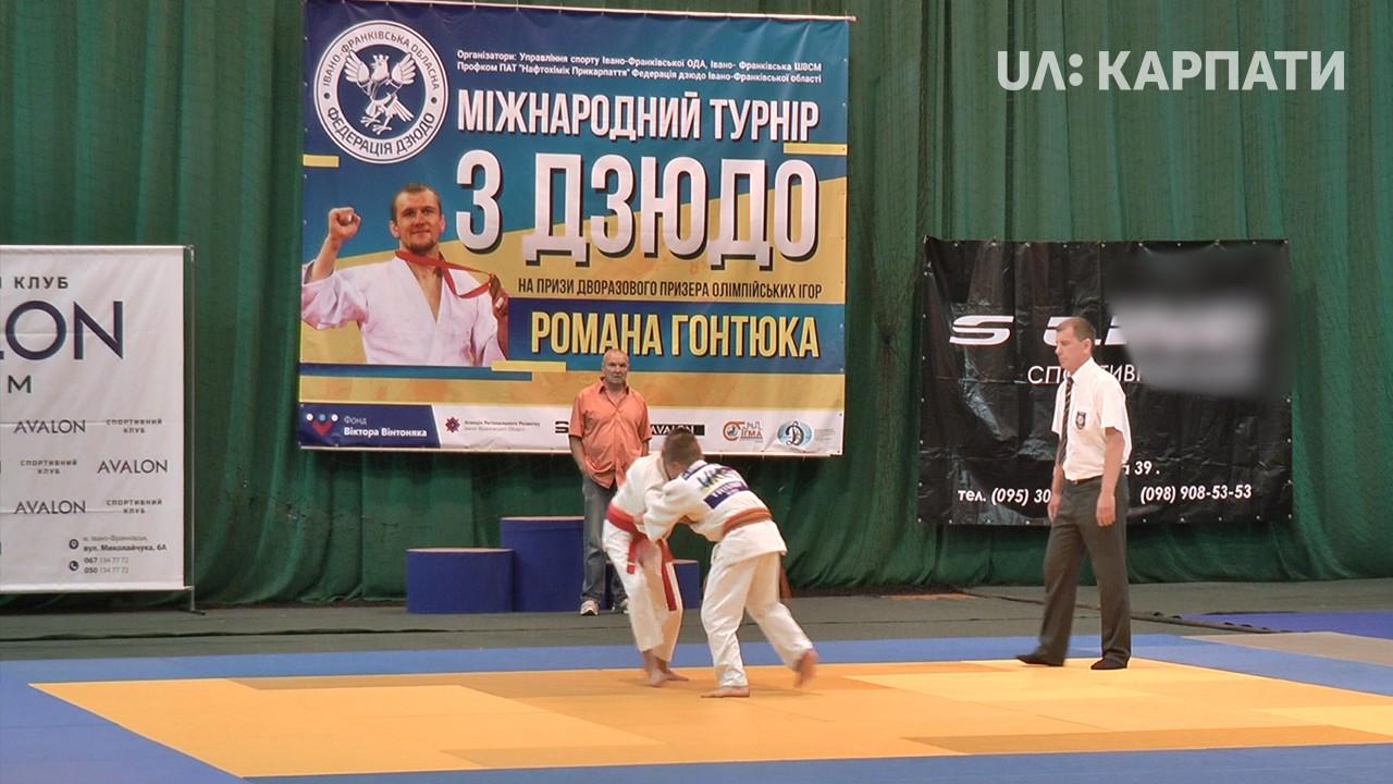 Понад 300 дзюдоїстів з різних країн змагалися за медалі в Івано-Франківську (відеосюжет)