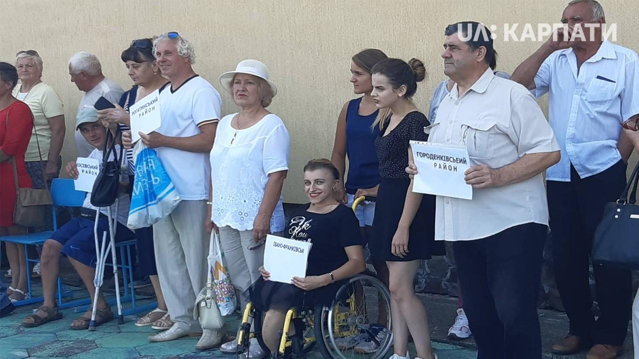 Обласна спартакіада серед людей з інвалідністю стартувала в Івано-Франківську (відеосюжет)