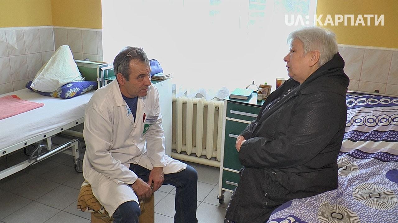 Надвірнянська лікарня: делятинських пацієнтів багато, грошей мало